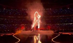 Бейонсе и Destiny's Child выступили на Суперкубке