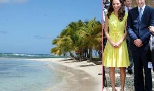 Принц Уильям и Кейт Миддлтон улетели на Карибы
