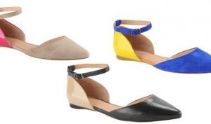 Хит сезона - обувь без каблука
