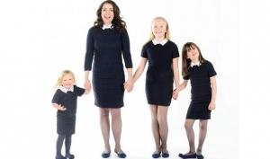 Одинаковая одежда для мам и дочек набирает популярность в Англии