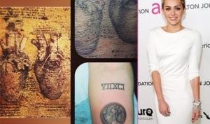 Майли Сайрус сделала новую татуировку с сердцами