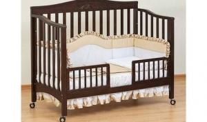 Любимому малышу — лучшую кроватку