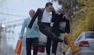 Корейское телевидение запрещает видео Gentleman