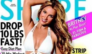 Бритни Спирс попала на обложку журнала Shape