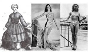 Как появились пальто, губная помада и бикини?