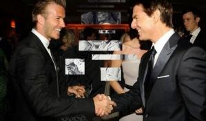 Том Круз пообещал Дэвиду Бекхэму сделать из него кинозвезду