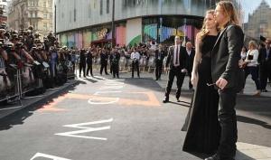 Анджелина Джоли пришла на премьеру Брэда Питта