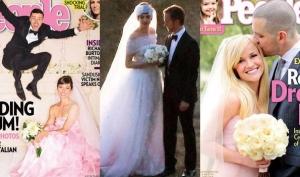 Молодые невесты предпочитают цветные платья