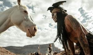 Джонни Депп упал с лошади на съёмках
