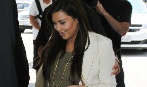 Ким Кардашян проверила друзей фальшивой фотографией дочки
