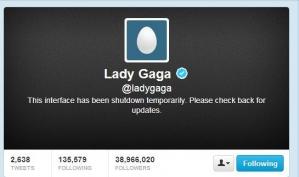 Леди Гага в Твиттере стала яйцом