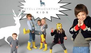 Стелла Маккартни показала первые образцы своей коллекции одежды для детей