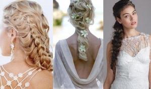 Красивая невеста - это не обязательно традиционная прическа и классическая фата