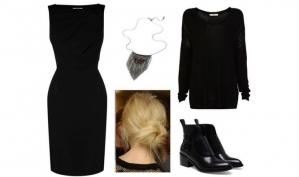8 способов превратить нарядное платье в повседневное