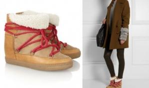 Новинки обуви Isabel Marant