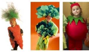 Популярные детские карнавальные костюмы 2013