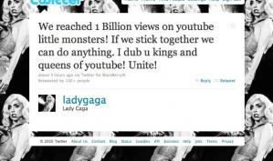 Леди Гага стала королевой Ютьюба