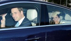 Принц Уильям и Кейт Миддлтон крестили сына