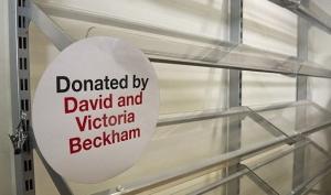 Дэвид и Виктория Бекхэм пожертвовали одежду