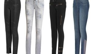 Скинни джинсы от Виктории Бэкхем