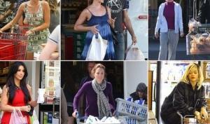 Звезды, которые любят ходить по магазинам