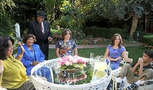 Опра Уинфри встретилась с семьёй Майкла Джексона