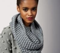 Тёплые шарфики для холодной зимы 2011