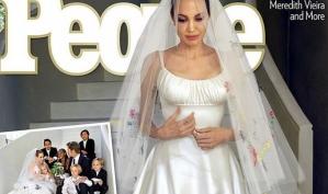 Первые фотографии свадьбы Анджелины Джоли