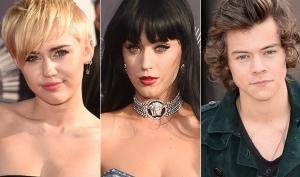 Майли Сайрус, Кэти Перри и One Direction попали в книгу рекордов Гиннесса