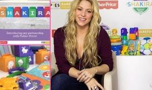 Шакира разработала линию игрушек