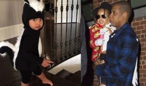 Ким Кардашян и Бейонсе нарядили детей для Хэллоуина