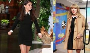 Маленькое чёрное платье: Селена Гомес против Тэйлор Свифт