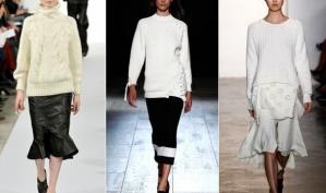 Что купить зимой: модные свитера и свитшоты