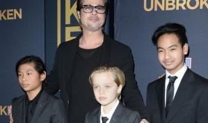 Брэд Питт заменил Анджелину Джоли на премьере её фильма
