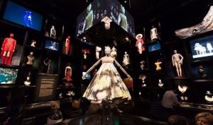 Знаменитости на выставке работ Alexander McQueen