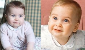 Кейт Миддлтон показала новые фото принцессы Шарлотты