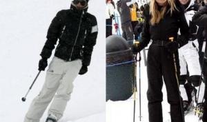 Звездный снег. Где знаменитости любят кататься на лыжах