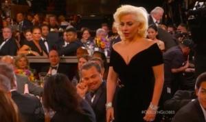Взгляд Леонардо Ди Каприо на Леди Гагу стал хитом Интернета