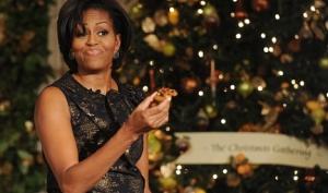 Как Мишель Обама украшает Белый дом к Рождеству