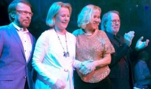 Группа ABBA воссоединилась в ресторане Стокгольма