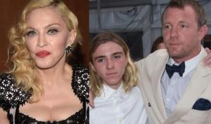 Мадонна отправилась в Лондон за сыном