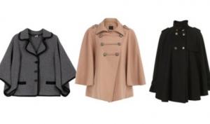 С чем носить пальто капа? Звёзды в пальто-накидке