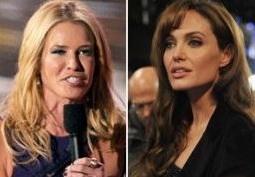 Анджелине Джоли досталось от подружки Дженнифер Энистон