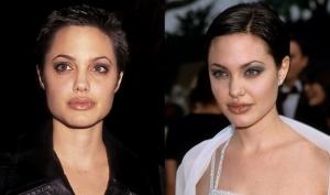Причёски Анджелины Джоли (фото)