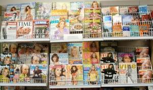 Журналы с Леди Гага на обложке были самые продаваемые в прошлом году