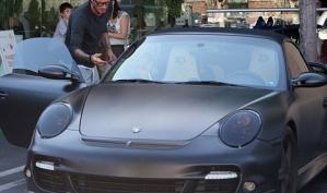 Машина Дэвида Бекхэма продаётся на аукционе eBay