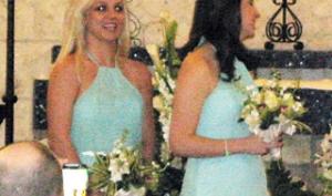 Бритни Спирс выдала замуж подругу