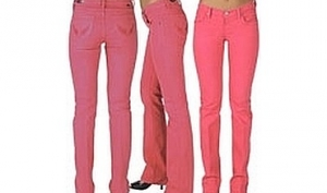 Розовые джинсы - мастхэв весны 2011