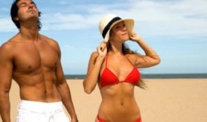 Женская кожа больше страдает от солнечных лучей, чем мужская