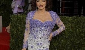 Джоан Коллинз потеряла сознание после Оскара